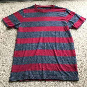 AEROPOSTALE Red and Grey Tshirt Size S